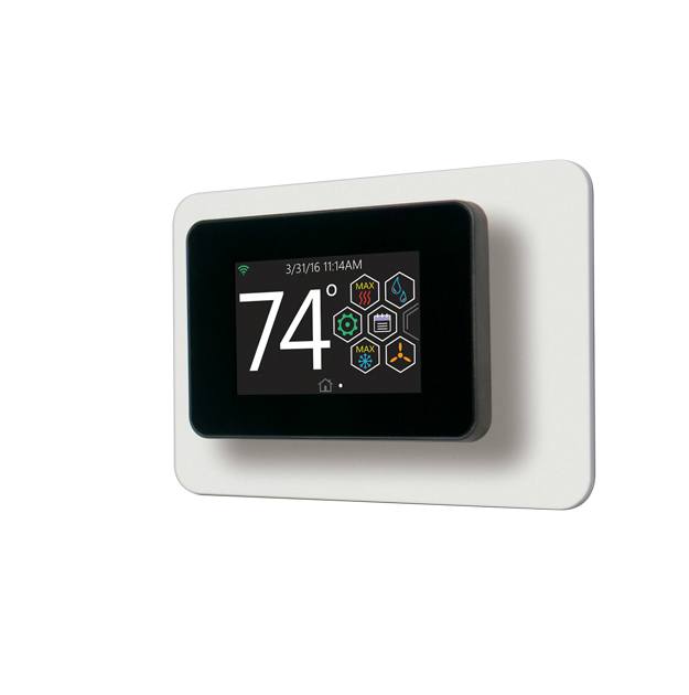 Touch-screen Thermostat with Proprietary* Hexagon Interface