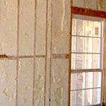 Carrier Foam and Cellulose Insulation