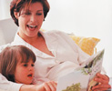 Mother and Child in comfortable, healthy home