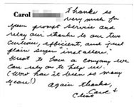 Carol & Clint review