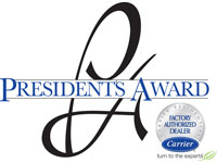 Carrier President's Award