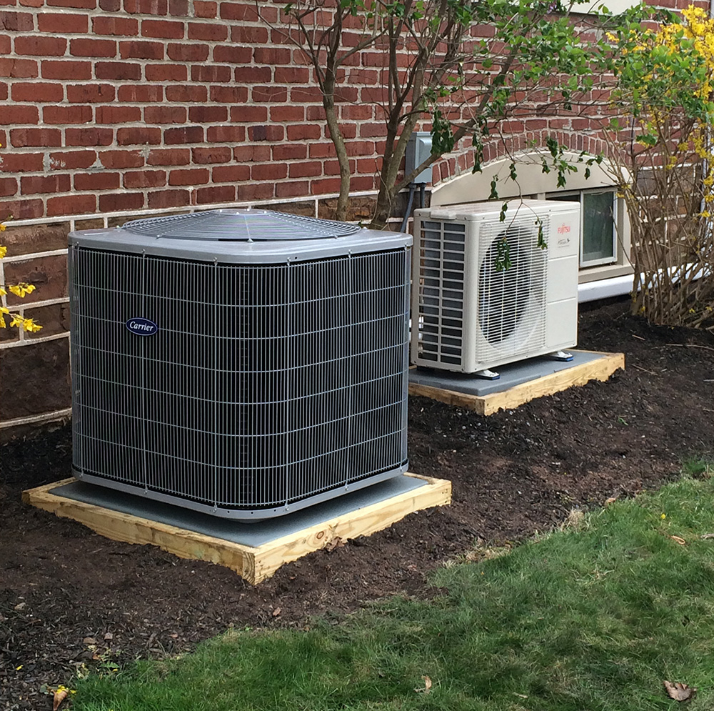 Carrier Air Conditioning and Fujitsu Ductless Unit