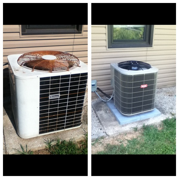 A/C Before and After