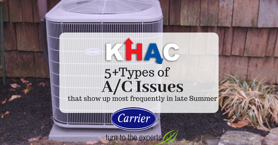 5+ Most Common Summer A/C Problems