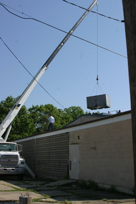 Rooftop Unit - Commercial Installation
