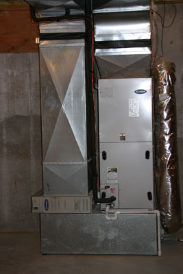Electric Air Handler - Residential Installation