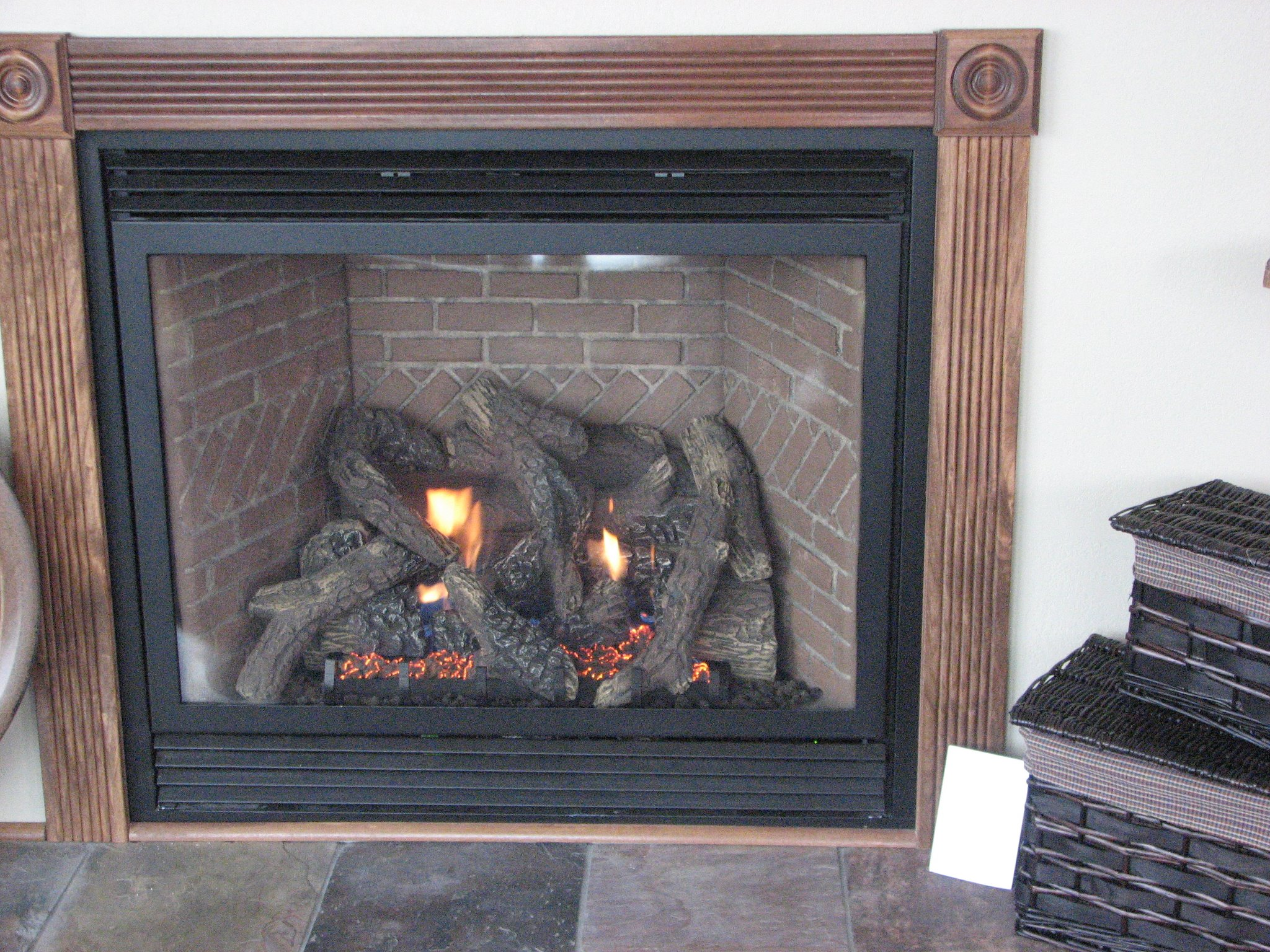 Gas Fireplace and Gas Log Insert Installation