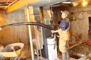 Geothermal Heat Pump Installation 3