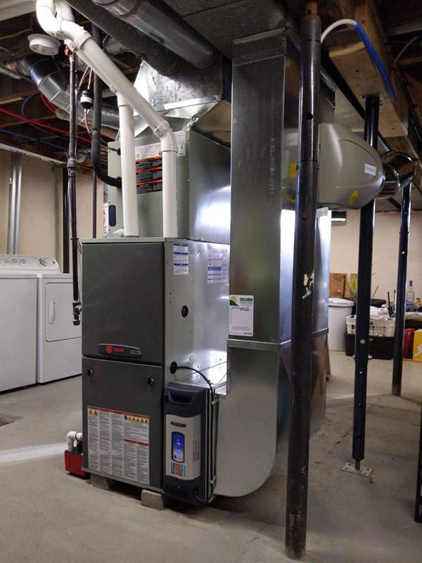 After Install of Trane XC95M with Clean Effects