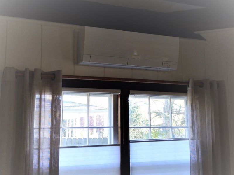 Trane-Mitsubishi Ductless Indoor Unit Installed
