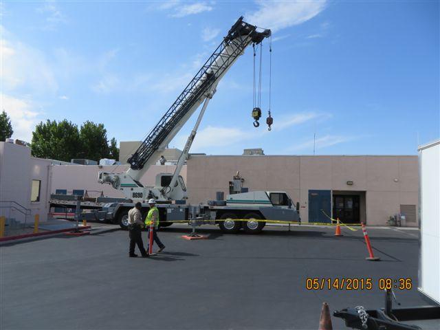 commercial air handler installation