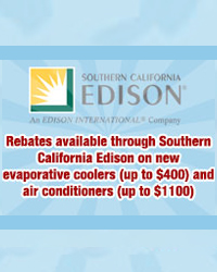 Rebates in south CA