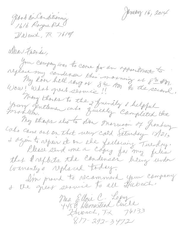 Mrs. Ellsie L. review