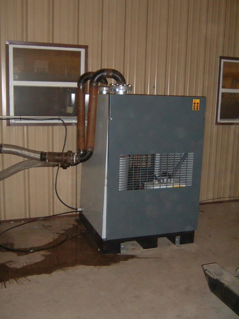 Large Commercial Air Dryer Installation