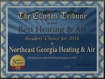 Reader's Choice Award