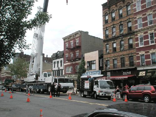 Rigging Washington St. - Hoboken