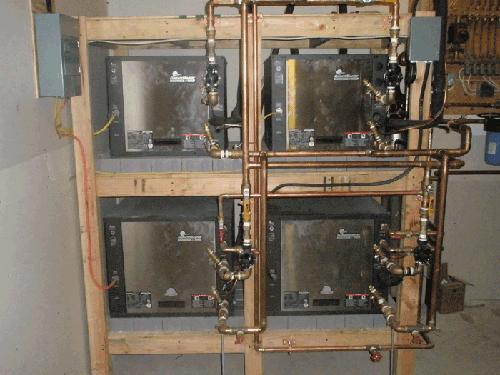 High Efficient Geothermal Rack Set Up
