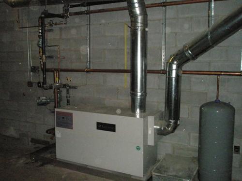 St. Joseph's High School High Efficient Boiler
