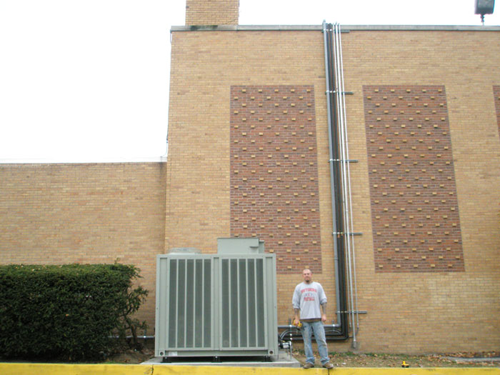 St. Joseph's High School High 40 Ton Condensing Unit
