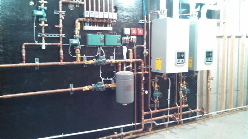 High Efficient Boiler Plant 500K Install