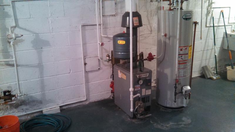 Standard Boiler Replacement Before
