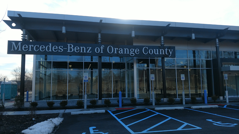 Mercedes Benz of Orange County NY<br /> Installation of 17 new heating &amp; air conditioning systems including design, fabrication, and installation of all duct systems.