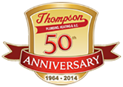 Thompson 50th Anniversary badge