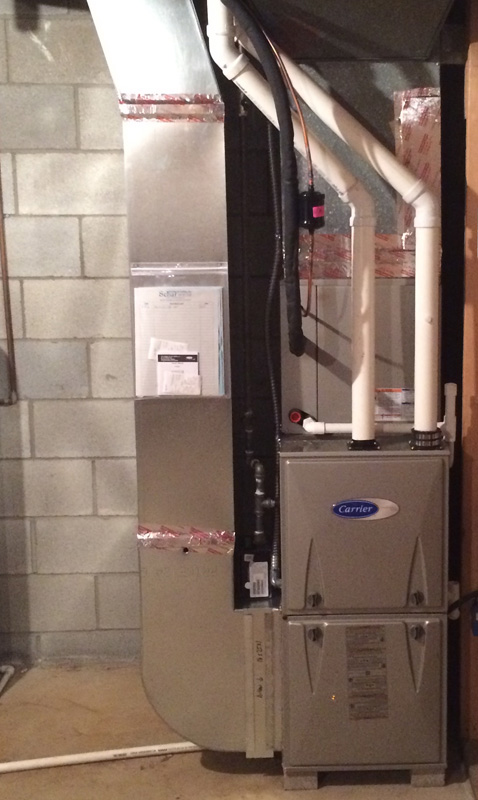<p>Gas Furnace With AC</p>
