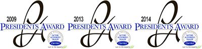 President's Awards logos