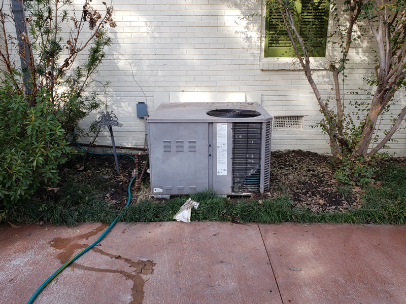 Before AC Installation 2/18/2019