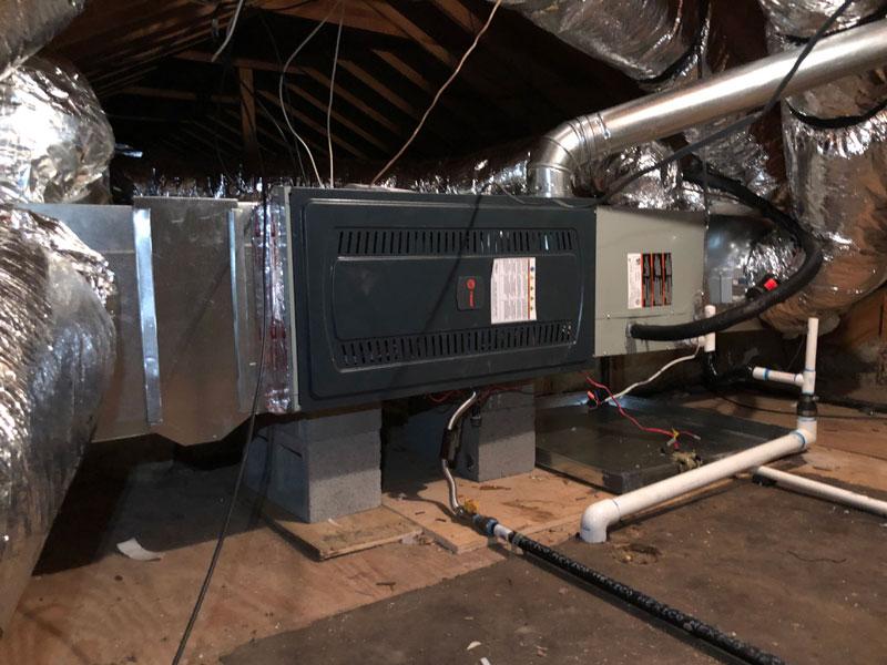 Horizontal Furnace Installation - 2/21/2021