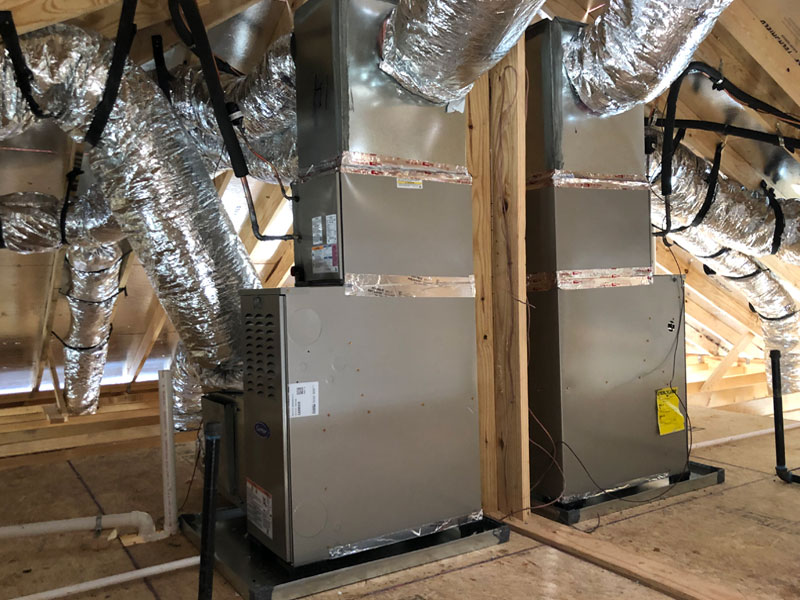 New Construction - Furnace, Coil and Ductwork - 2/22/2021