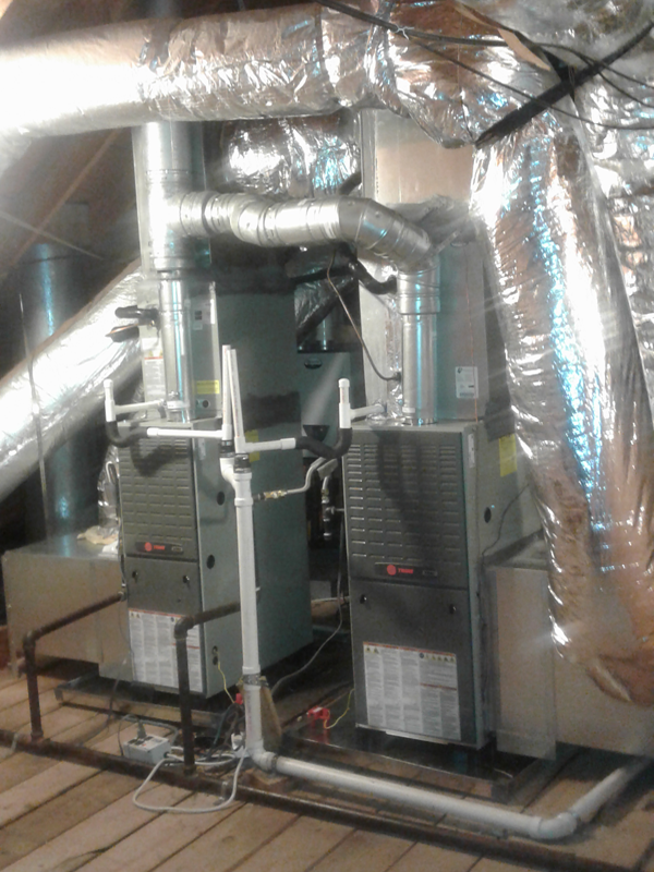 AFTER - Furnace Installation