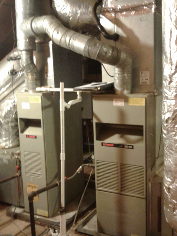 BEFORE - Furnace Installation
