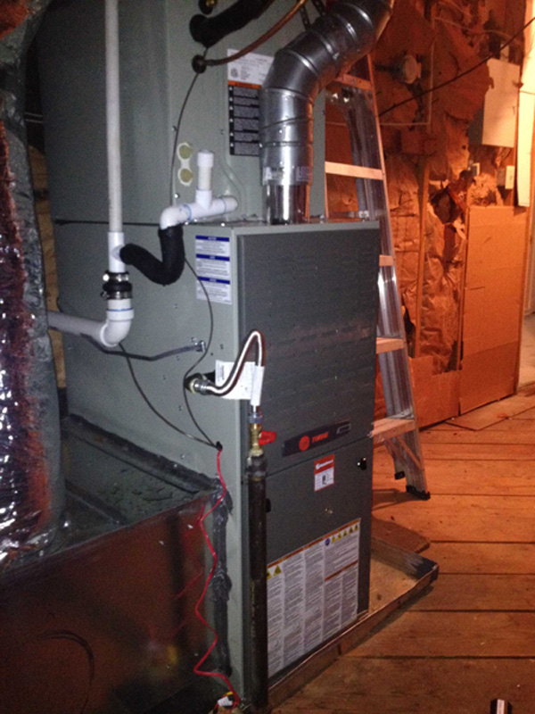 Upflow Furnace Installation