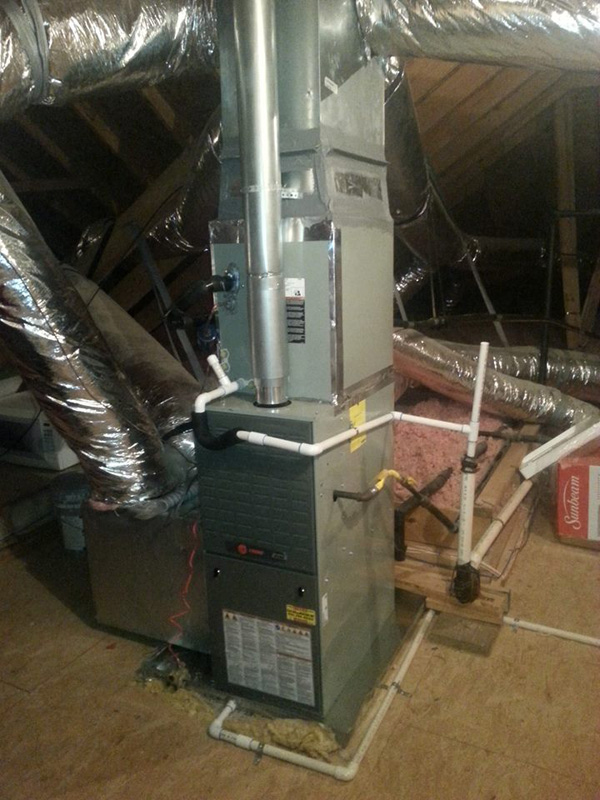 Trane Furnace Installation