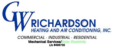 GW Richardson Heating & Air Conditioning Inc
