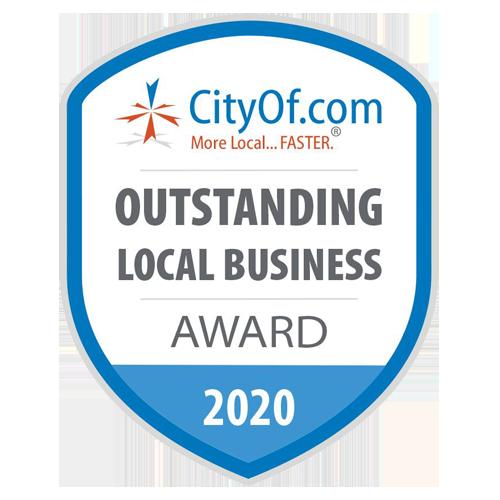 CityOf.com Outstanding Local Business Award