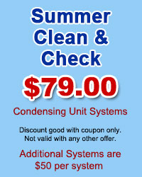 Summer Clean & Check Condensers