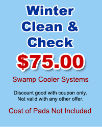 Swamp Coolers Winter Clean & Check
