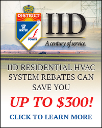 Click here to learn more about Imperial Irrigation District Residential Rebates