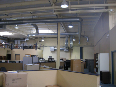 Exposed Ductwork