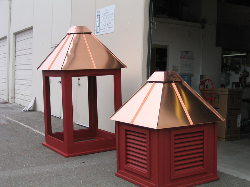 Custom Copper Tops