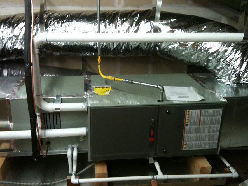 Furnace Installation with Air Filration in Keokuck