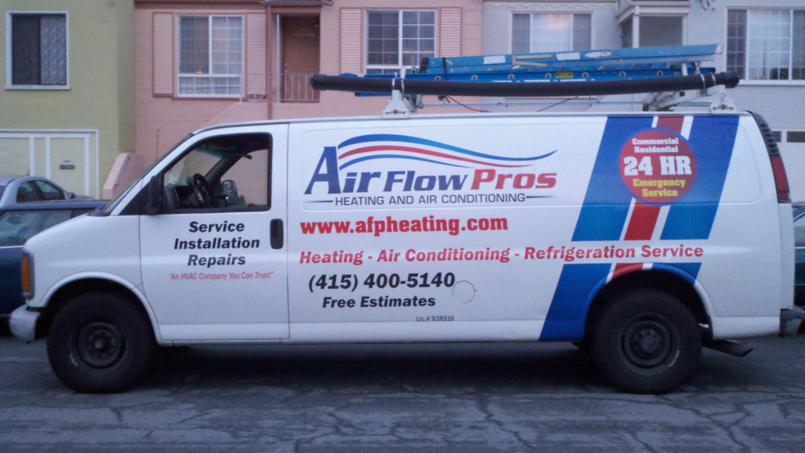 Air Flow Pros Van