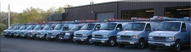 Fleet of Service Vans