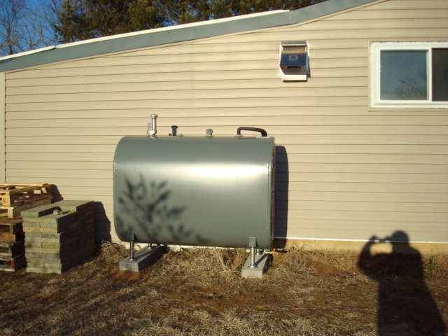Above Ground Tank Install #1