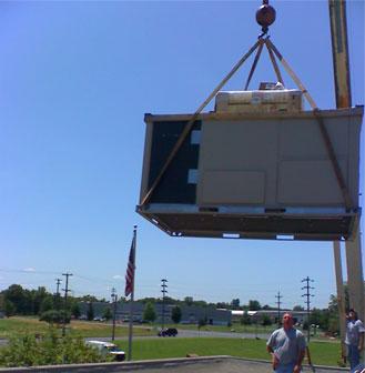 Roof-top condenser #3