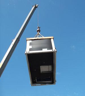 Roof-top condenser #1