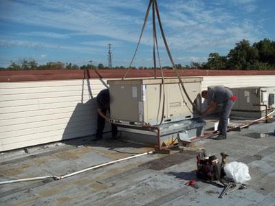 Roof-top condenser #2